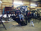 Jimmy Creten Chassis under construction at PEI