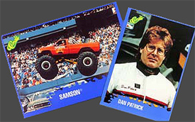 Samson 4x4 Monster truck Trading Cards