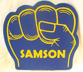 Samson Monster Truck Foam Fist