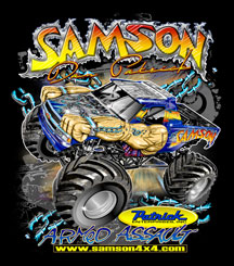 Dan Patrick Racing Monster Truck T-Shirt