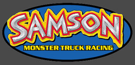Samson Monster Truck Racing Decal Sticker