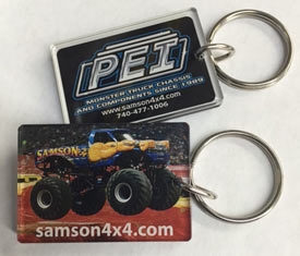 Samson Monster Truck Key Chains