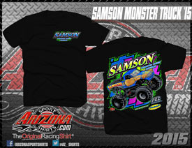 SAMSON Monster Truck Christmas Gifts, Monstertruck holiday Toys, Gift for kids, children, Racing Pictures, Merchandise, shirts, monstertrucks