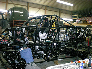 New Samson Monster Truck Build 2008