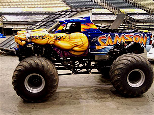 New Samson Monster Truck 2008