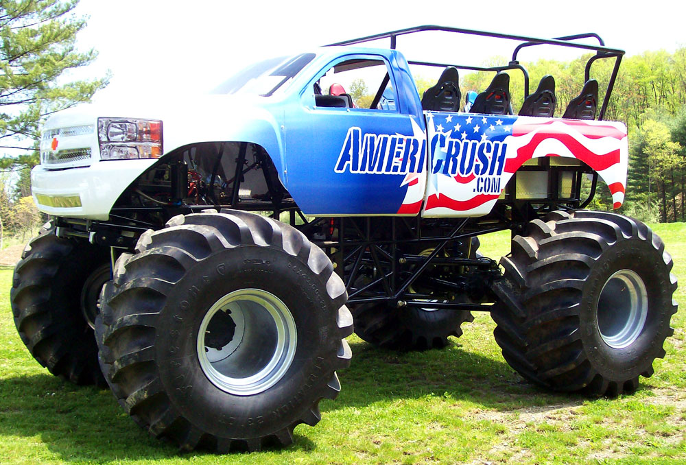 AmeriCrush Monster Ride Truck