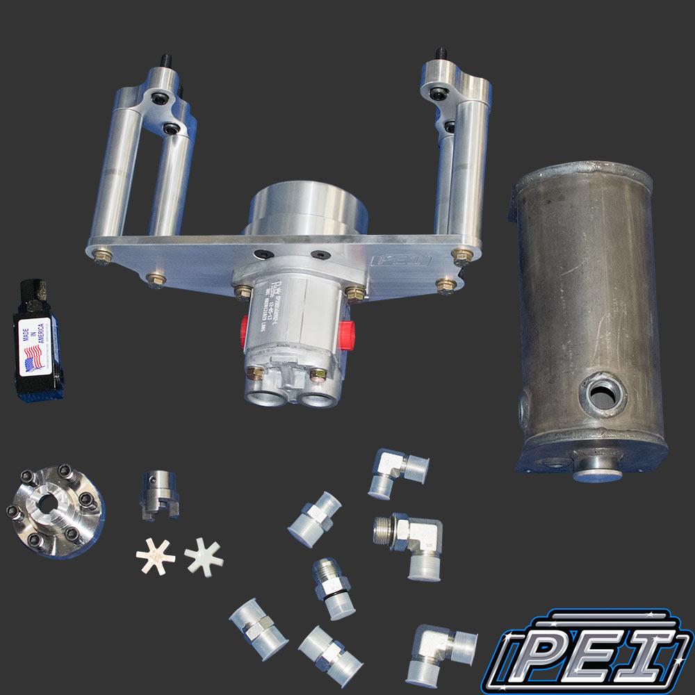 PEI Crank Style Front Power Steering Pump Drive Kit