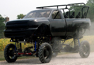 Patrick Enterprises Monster Truck Chassis Building, Construction, Fabrication and Components
