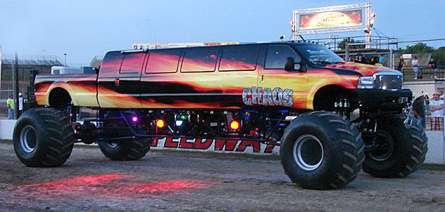 The Chaos Monster Limo