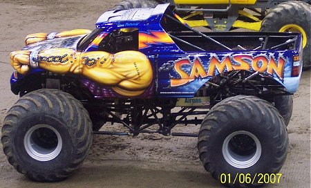 Samson Monster Truck Hall Of Fame News Monstertrucks